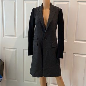 DIESEL SZ S NBW 3/4 LENGTH GREY/BLACK COAT